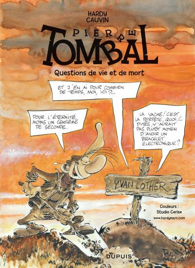 Page 1 Pierre Tombal tome 30 - questions de vie et de mort