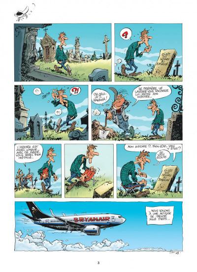 Page 3 Pierre Tombal tome 30 - questions de vie et de mort