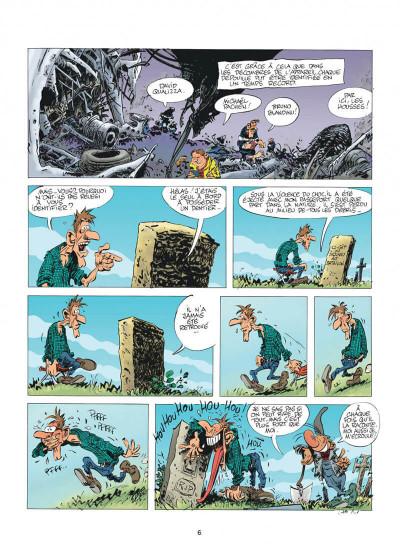 Page 6 Pierre Tombal tome 30 - questions de vie et de mort
