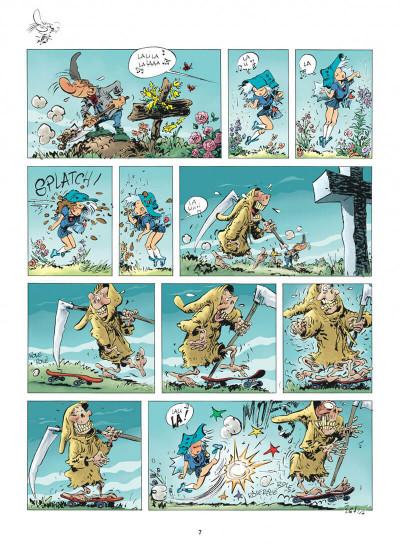 Page 7 Pierre Tombal tome 30 - questions de vie et de mort