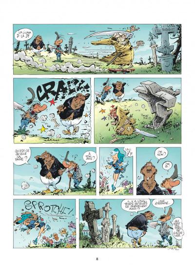 Page 8 Pierre Tombal tome 30 - questions de vie et de mort