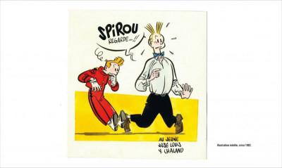 Page 4 Spirou par Y. Chaland