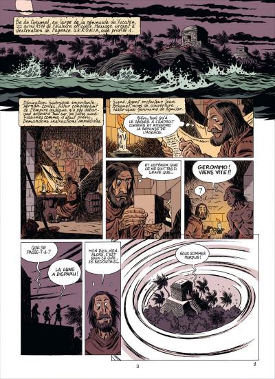 Page 3 les brigades du temps tome 2 - a grande armada