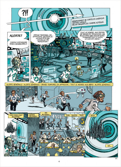 Page 4 les brigades du temps tome 2 - a grande armada