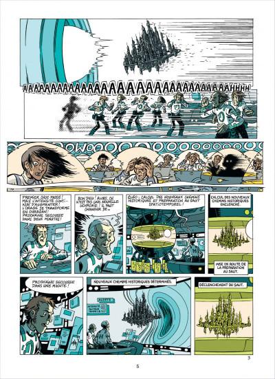 Page 5 les brigades du temps tome 2 - a grande armada