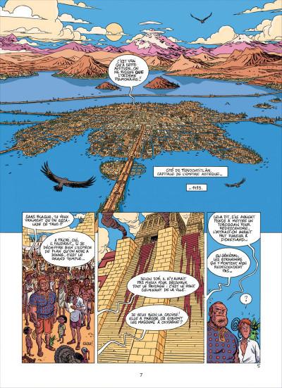 Page 7 les brigades du temps tome 2 - a grande armada