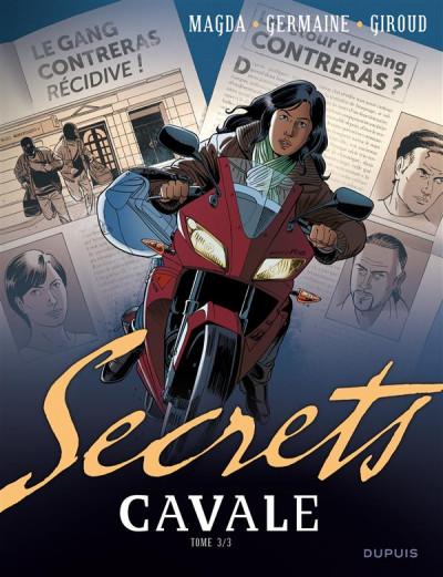 Couverture secrets - cavale tome 3/3