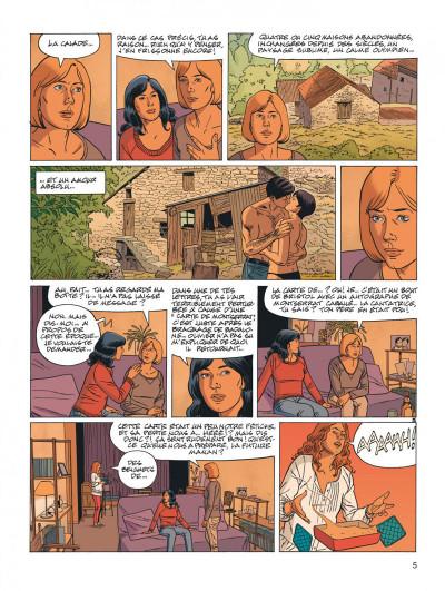 Page 5 secrets - cavale tome 3/3