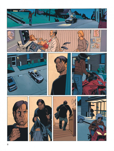 Page 8 secrets - cavale tome 3/3