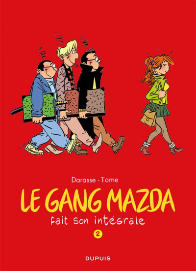 Couverture Le Gang Mazda intégrale tome 2