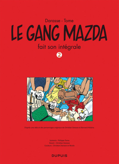 Page 3 Le Gang Mazda intégrale tome 2