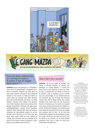 Page 5 Le Gang Mazda intégrale tome 2