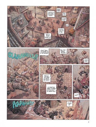 Page 5 Secrets, l'angélus - intégrale