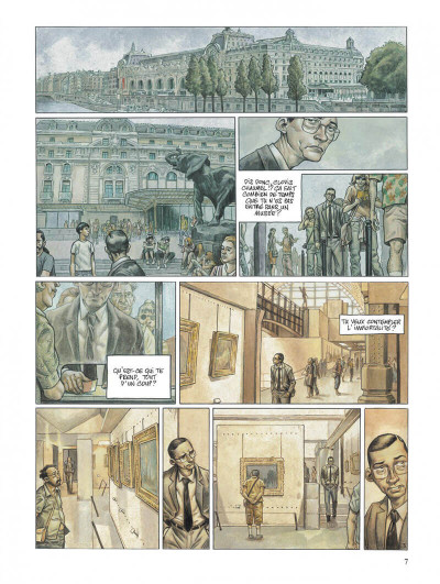 Page 7 Secrets, l'angélus - intégrale