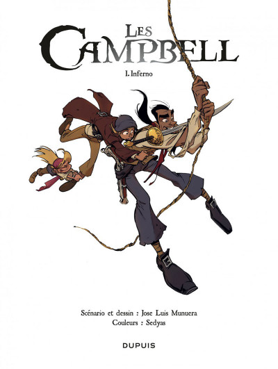 Page 1 Les Campbell tome 1
