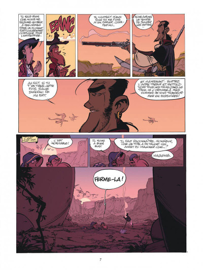 Page 7 Les Campbell tome 1
