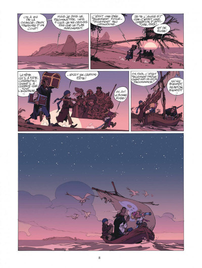 Page 8 Les Campbell tome 1