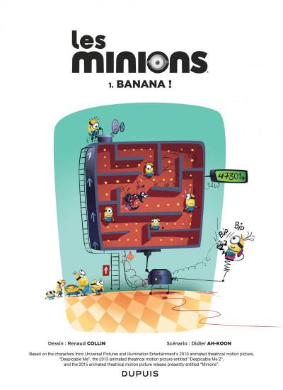 Page 1 Les Minions tome 1
