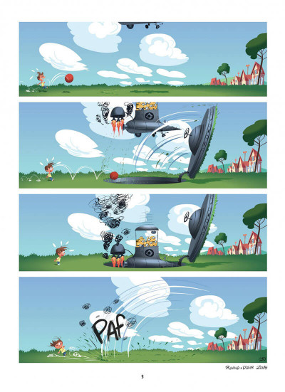 Page 3 Les Minions tome 1