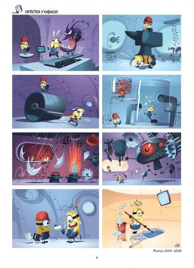 Page 6 Les Minions tome 1