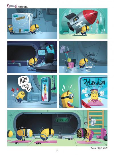Page 7 Les Minions tome 1