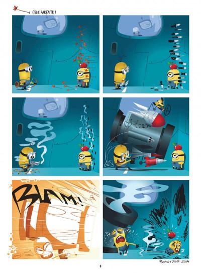 Page 8 Les Minions tome 1