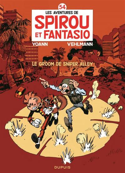 Couverture Spirou et Fantasio tome 54 - Le Groom De Sniper Alley
