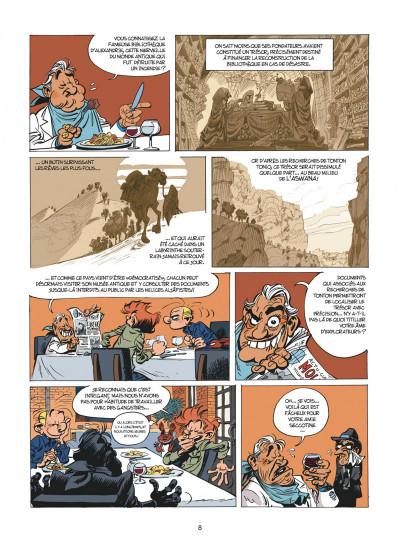 Page 8 Spirou et Fantasio tome 54 - Le Groom De Sniper Alley