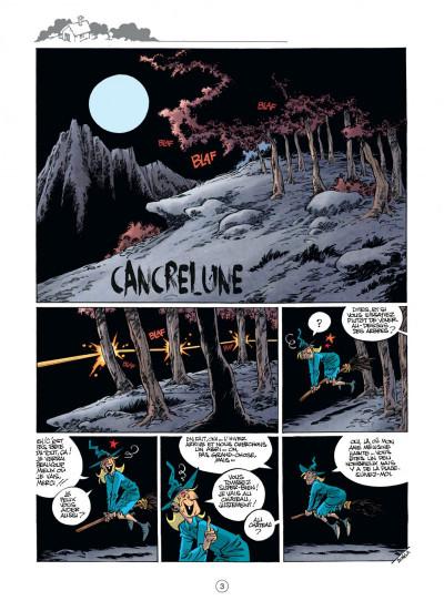 Page 3 Mélusine tome 22 - Cancrelune