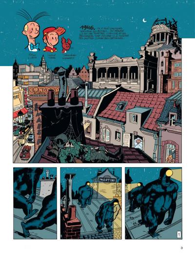 Page 2 Spirou vu par.. Schwartz et Yann : le fetichke du Kongo (bruxellois)