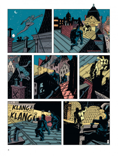 Page 4 Spirou vu par.. Schwartz et Yann : le fetichke du Kongo (bruxellois)