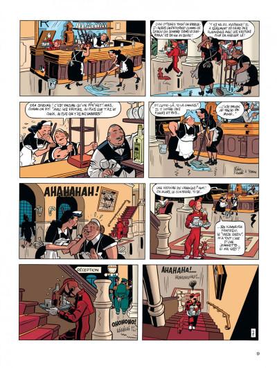 Page 9 Spirou vu par.. Schwartz et Yann : le fetichke du Kongo (bruxellois)