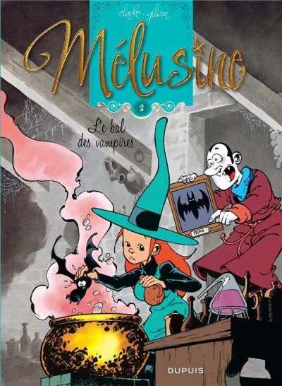 Couverture Mélusine tome 2 - le bal des vampires (nouvelle édition)