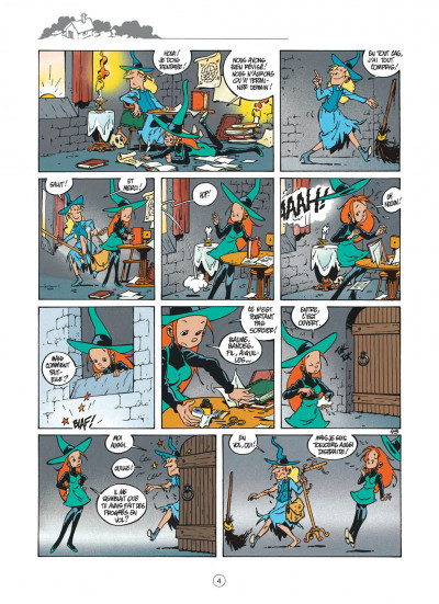 Page 4 Mélusine tome 2 - le bal des vampires (nouvelle édition)