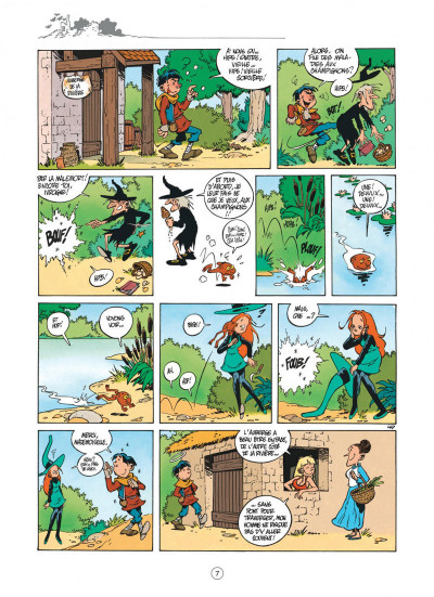 Page 7 Mélusine tome 2 - le bal des vampires (nouvelle édition)