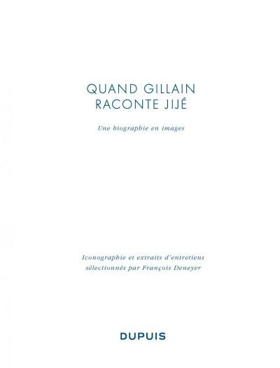Page 4 Quand Gillain raconte Jijé