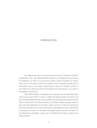 Page 7 Quand Gillain raconte Jijé