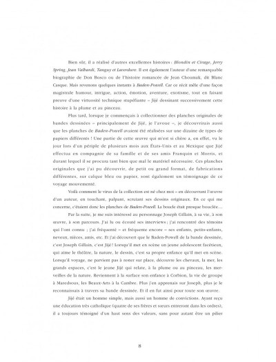 Page 8 Quand Gillain raconte Jijé