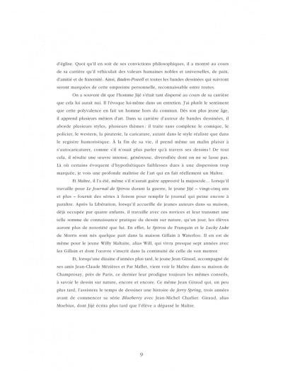 Page 9 Quand Gillain raconte Jijé
