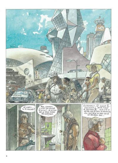 Page 4 jeremiah tome 33 - un gros chien avec une blonde