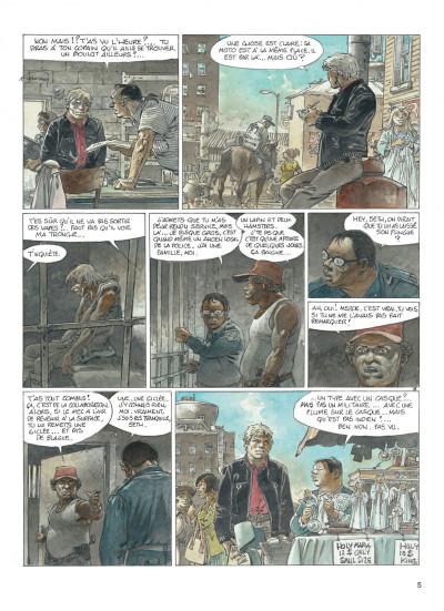 Page 5 jeremiah tome 33 - un gros chien avec une blonde