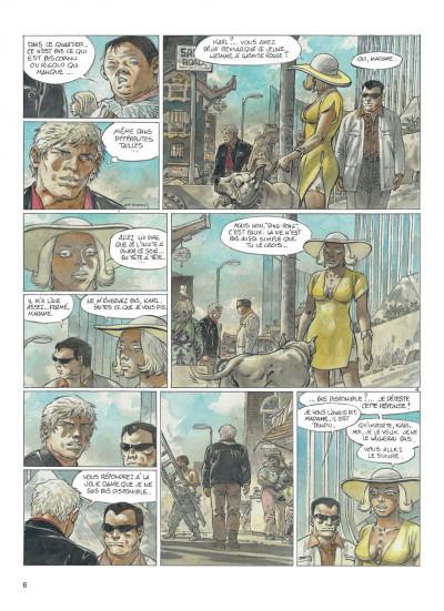 Page 6 jeremiah tome 33 - un gros chien avec une blonde