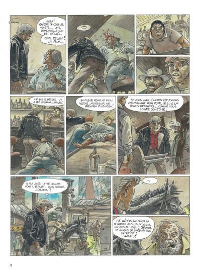 Page 8 jeremiah tome 33 - un gros chien avec une blonde