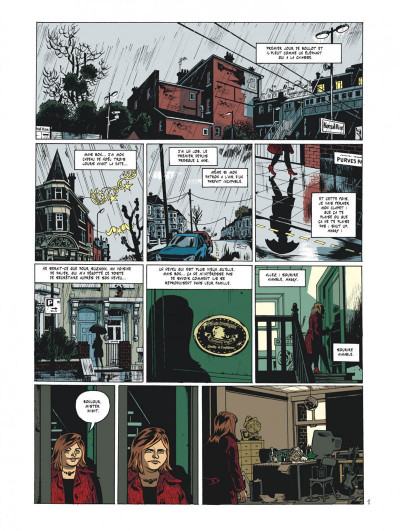 Page 3 Maggy Garrisson tome 1 - Fais un sourire, Maggy