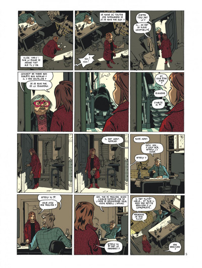 Page 5 Maggy Garrisson tome 1 - Fais un sourire, Maggy