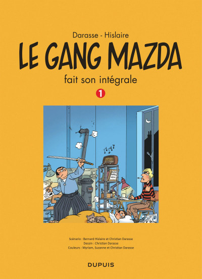 Page 3 le gang Mazda intégrale tome 1