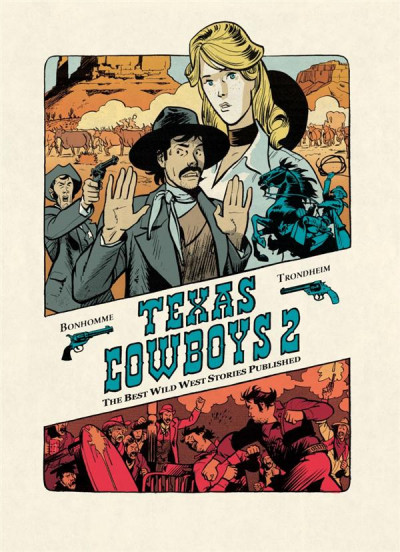 Couverture texas cowboys tome 2