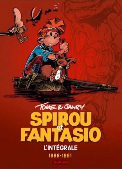 Couverture Spirou et Fantasio intégrale tome 15
