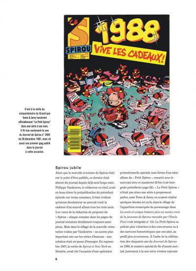 Page 6 Spirou et Fantasio intégrale tome 15