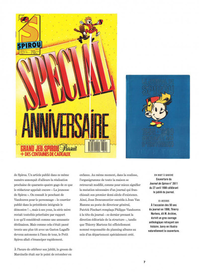 Page 7 Spirou et Fantasio intégrale tome 15